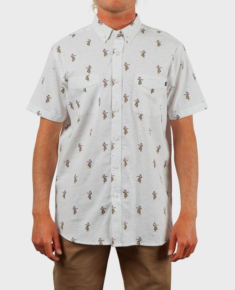 Breach Short Sleeve Shirt in White
