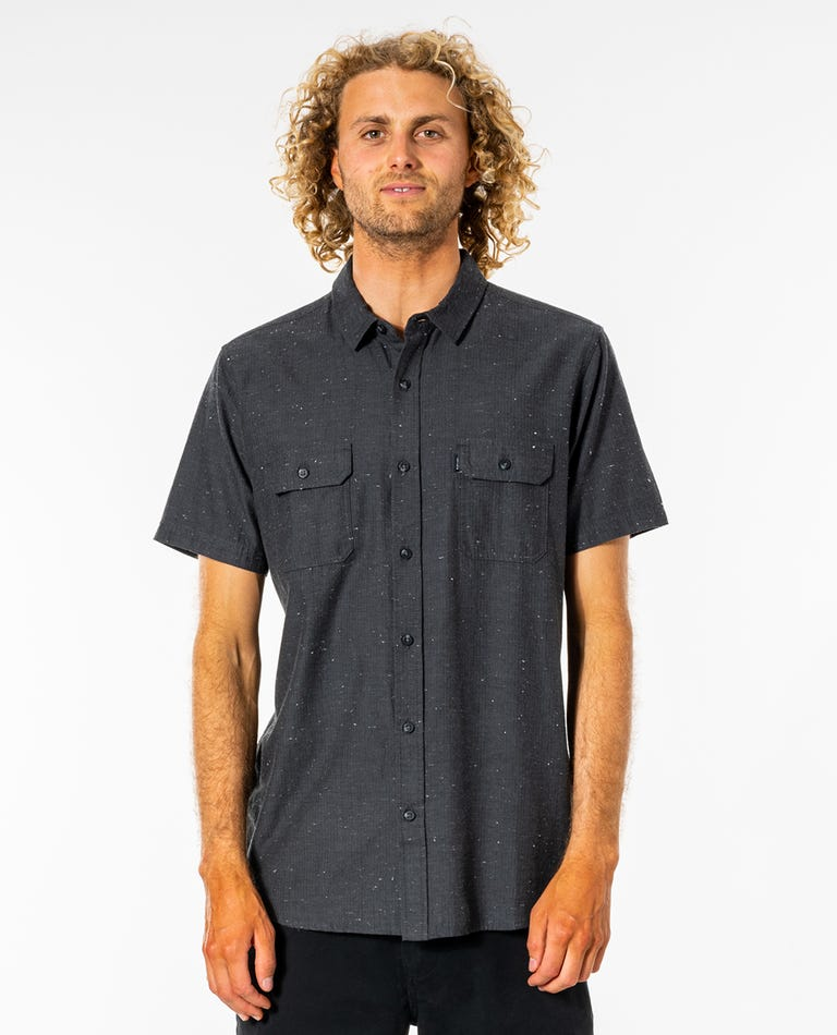Ourtime Short Sleeve Shirt in Black