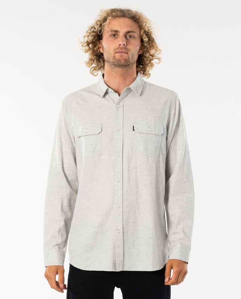 Ourtime Long Sleeve Shirt in Off White