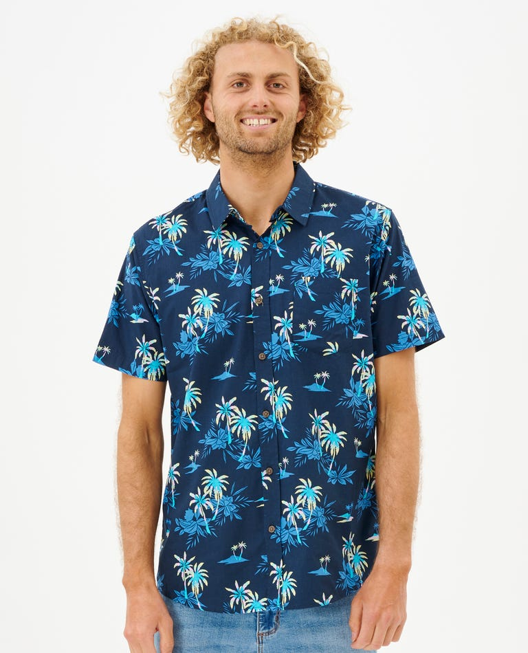 Party Pack Short Sleeve Shirt in Navy