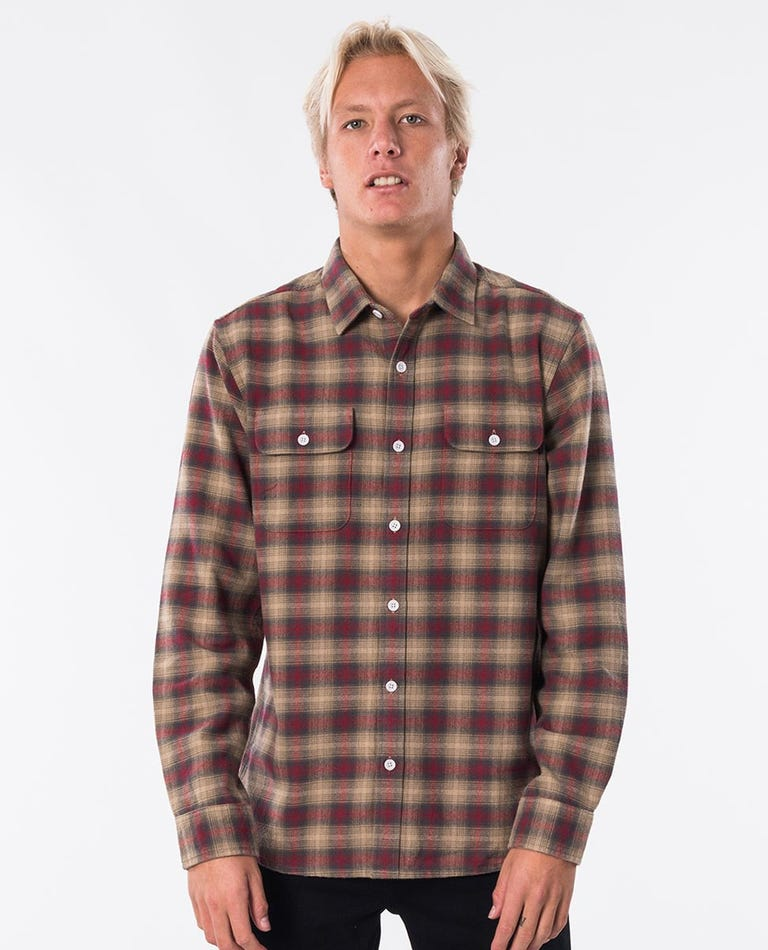 Stormy Flannel in Off White