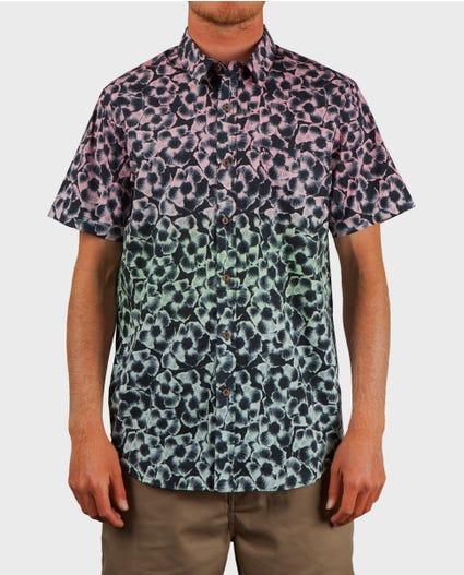 Mason Short Sleeve Shirt in Black