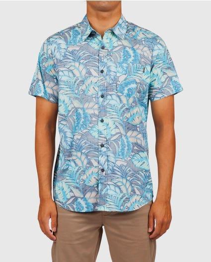 Tropicool Short Sleeve Shirt in Black