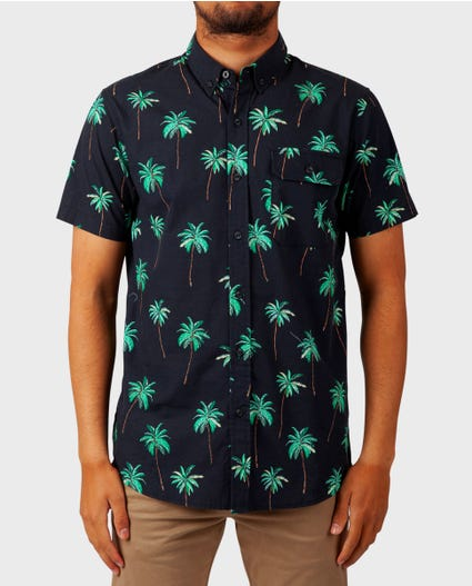 Torrey Short Sleeve Shirt in Black