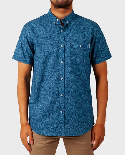 Windward Short Sleeve Shirt in Green