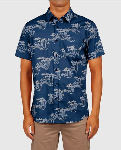 Ballena Short Sleeve Shirt in Navy