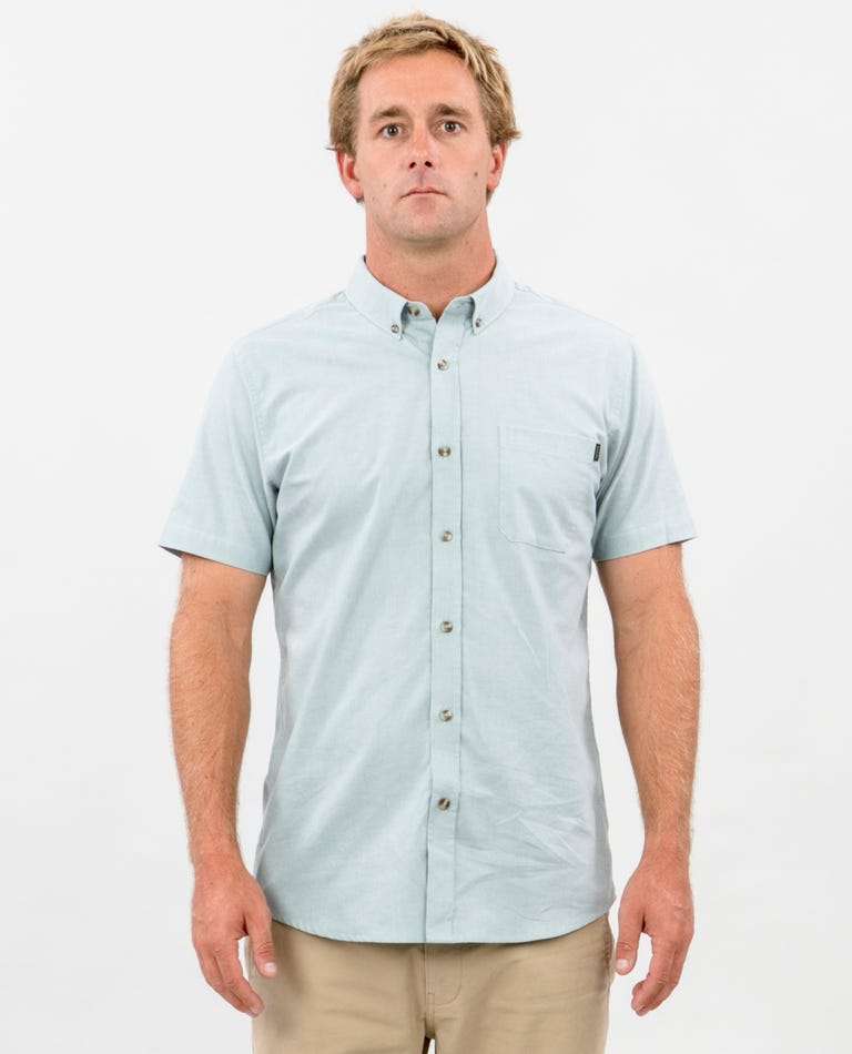 Ourtime Short Sleeve Shirt in Blue