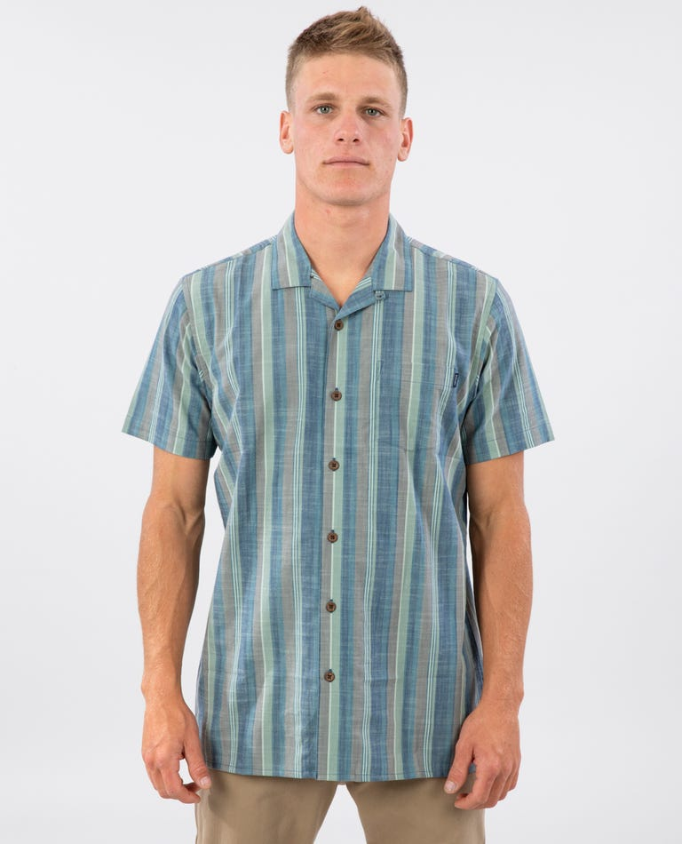 Sunshine Short Sleeve Shirt in Navy