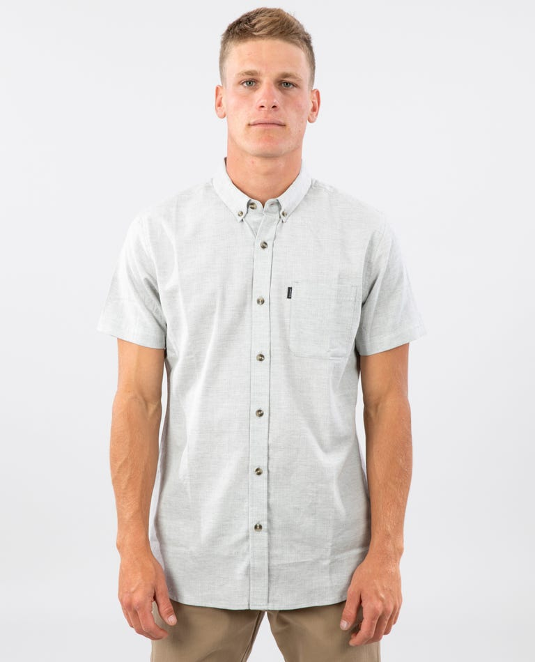 Ourtime Short Sleeve Shirt in Off White