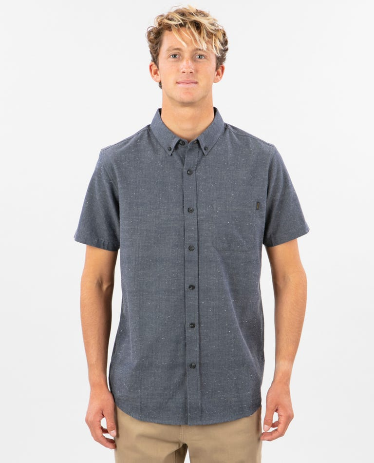 Ourtime Short Sleeve Shirt in Navy