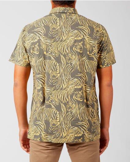 El Tigre Short Sleeve Shirt in Green