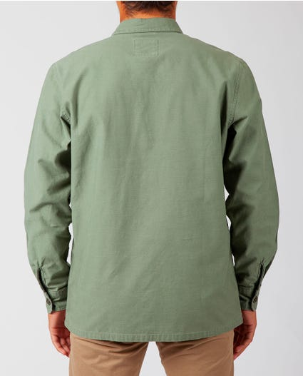 First Blood Long Sleeve Shirt in Green