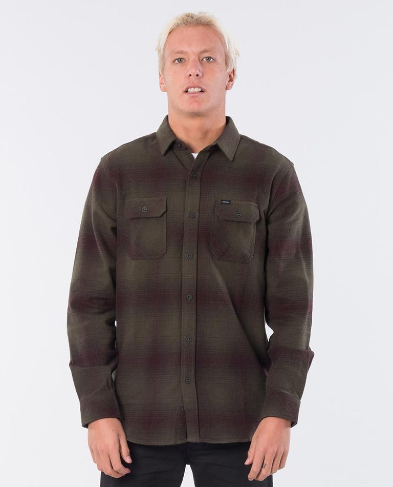 Count Long Sleeve Shirt in Forest Green