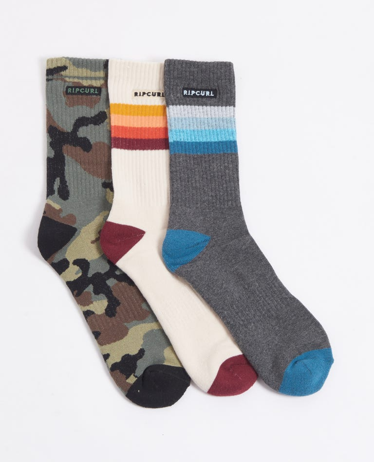 Art Party Sock 3-Pack in Mixed