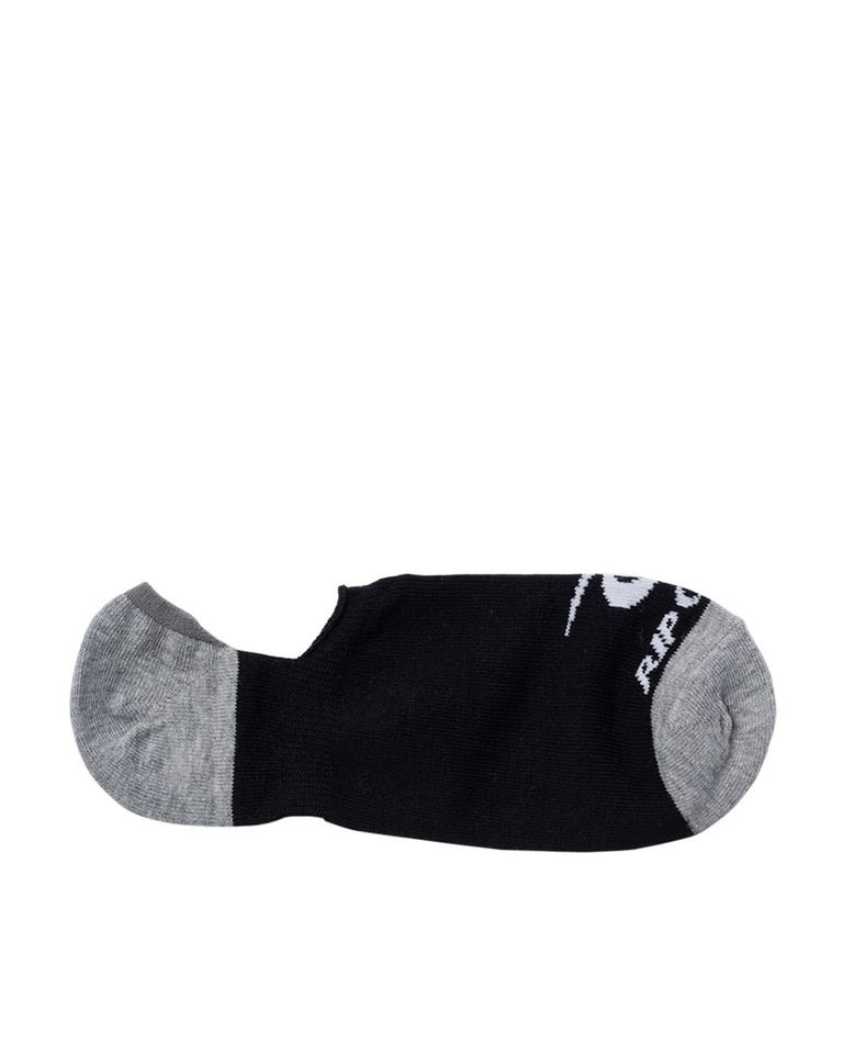 Invisible Sock In A Box in Grey Marle