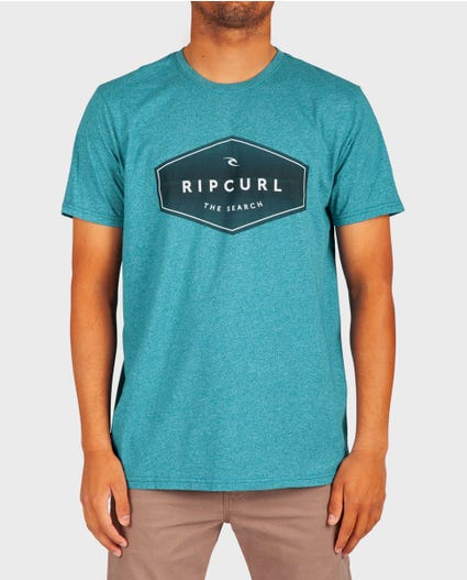 Party Time Mock Twist Tee in Aqua
