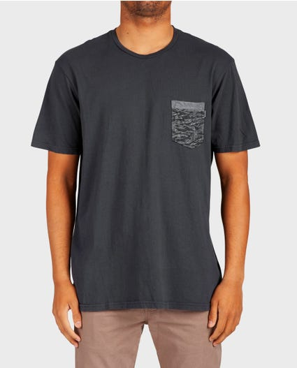 Armada Heritage Pocket Tee in Charcoal