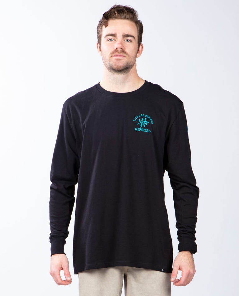Summer Fun Premium Long Sleeve in Black
