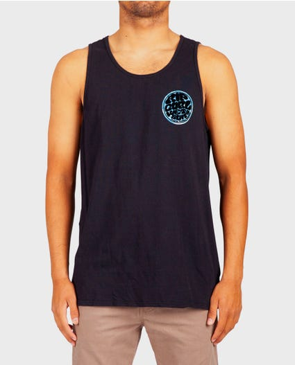 Wettie Central Heritage Tank Top in Black