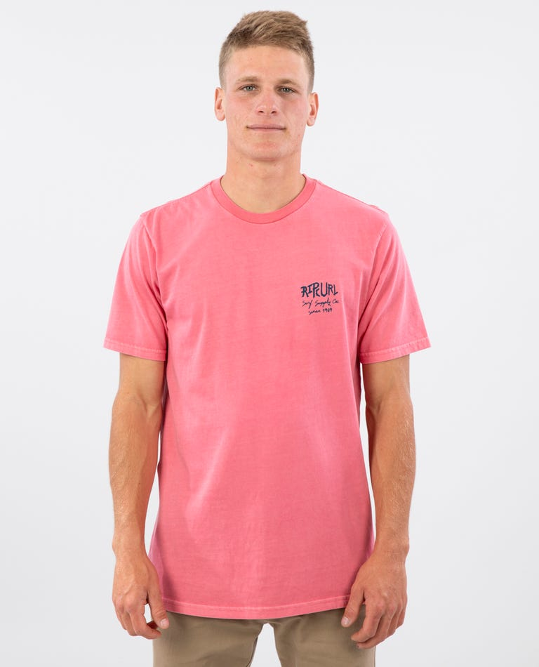 Party Supply Standard Issue Tee in Pink
