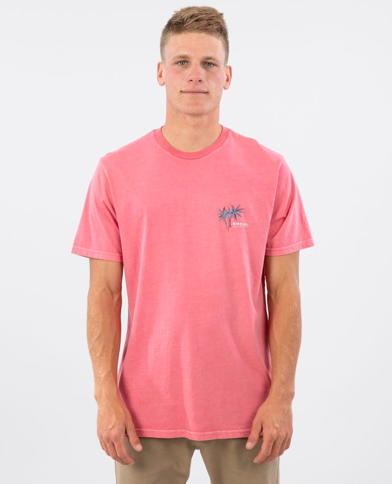 Party Palm Standard Issue Tee in Pink