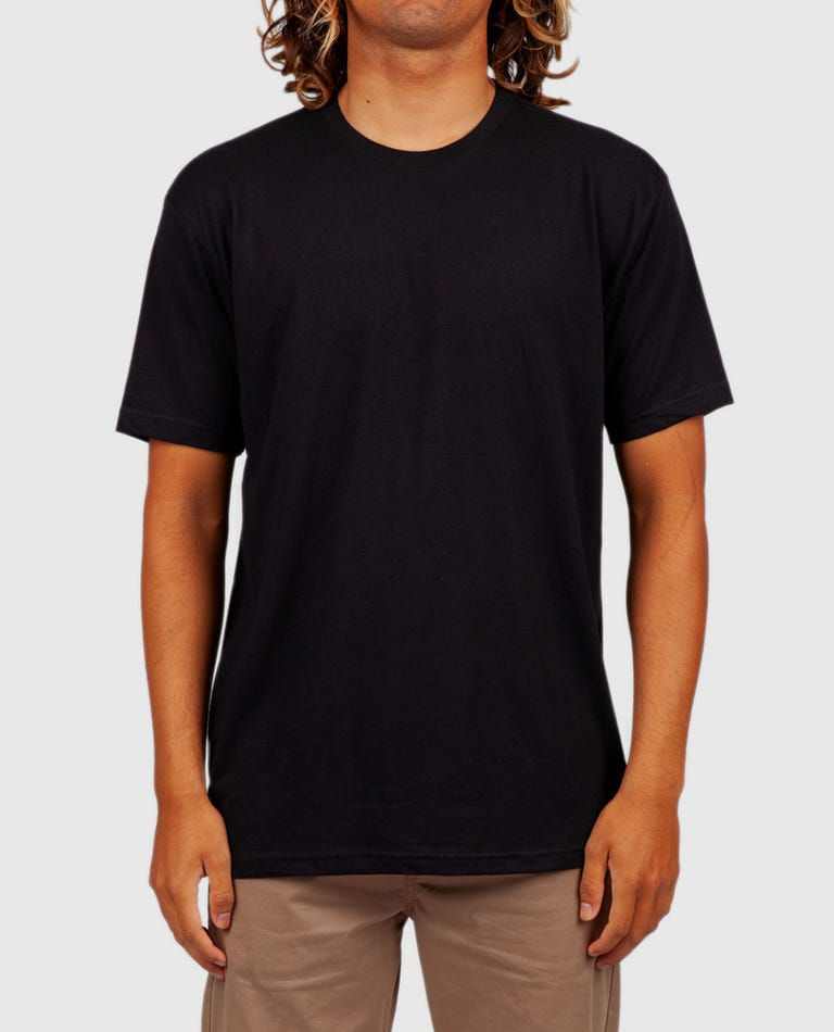 Core Cvc Crew Tee in Black