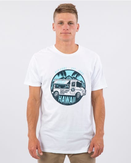 Shave Ice Truck Premium Tee in Black
