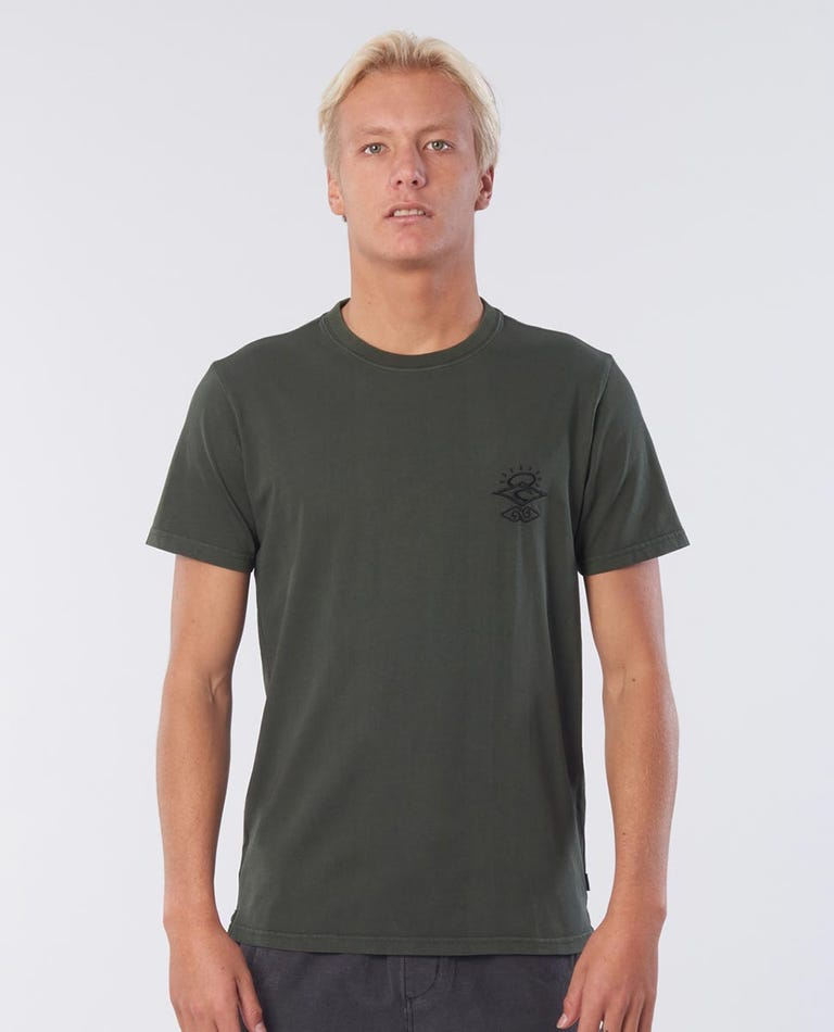 Sea Lice Tee in Dark Forest