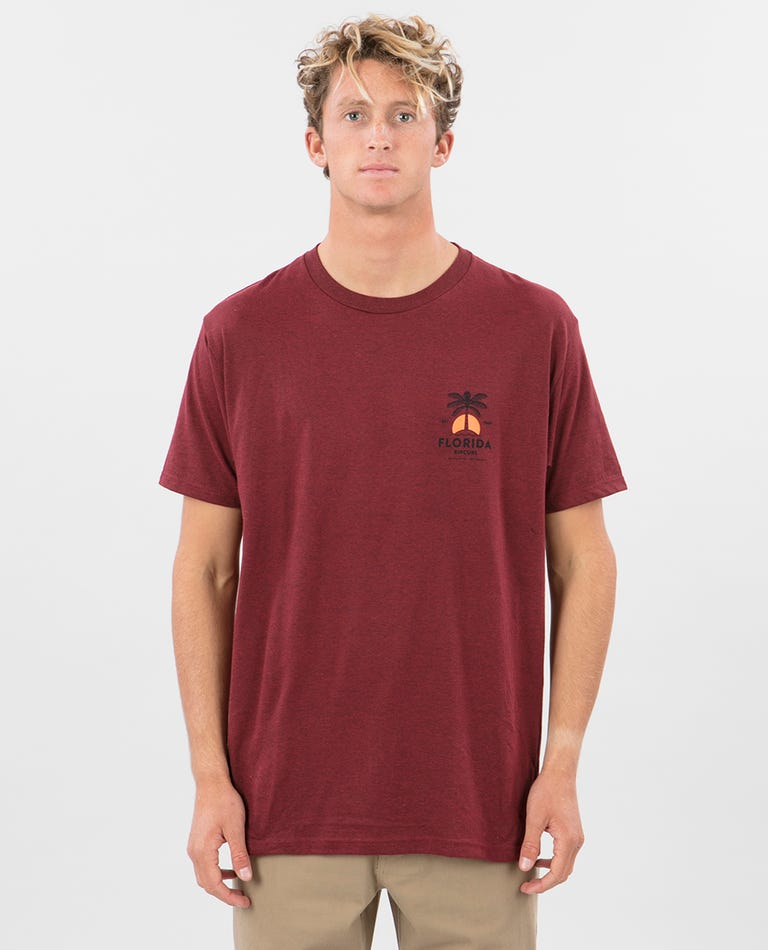 Florida Diamond Sea Premium Tee in Brick