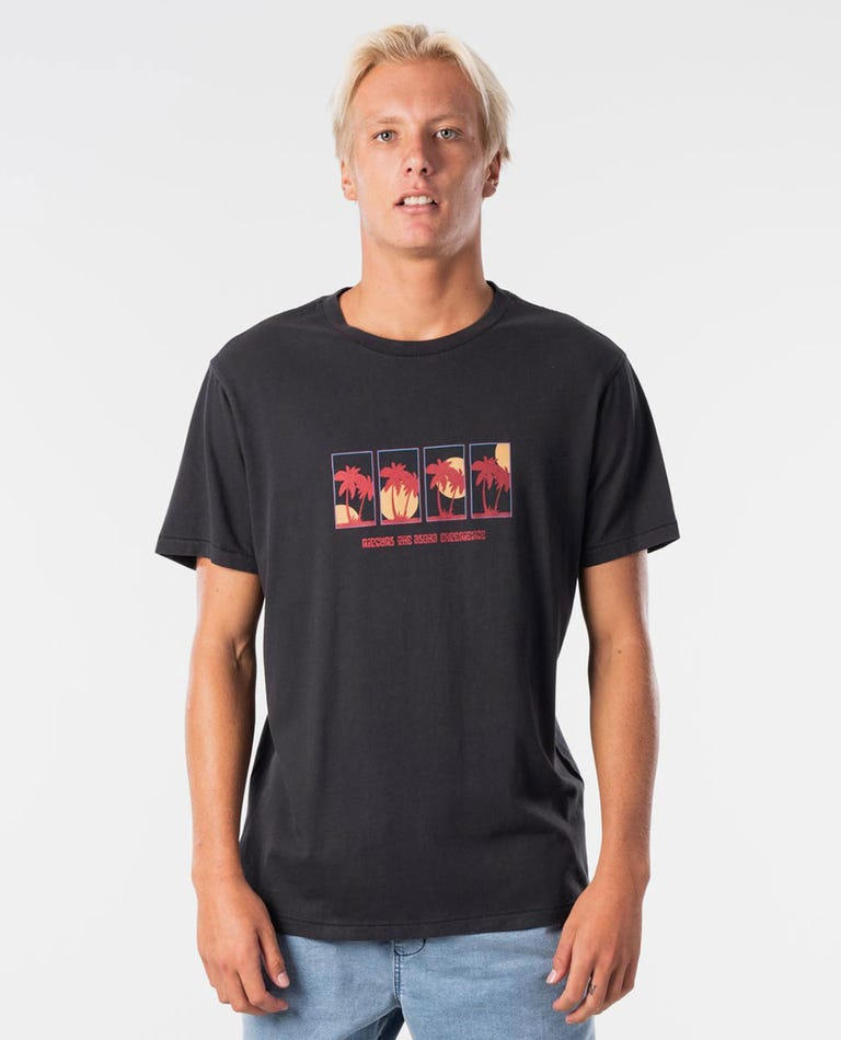 Experience Tee in Washed Black
