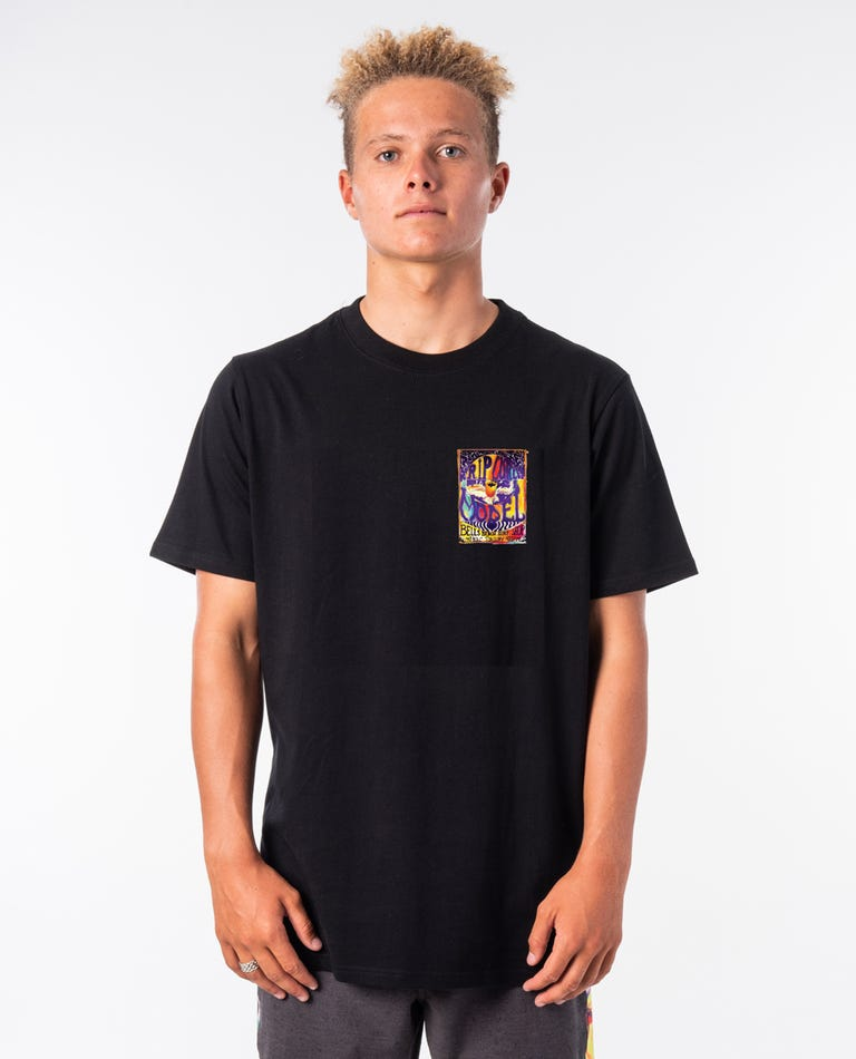 Madsteez Lotus Tee in Black