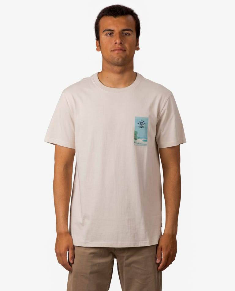 Searchers Visions Tee in Bone