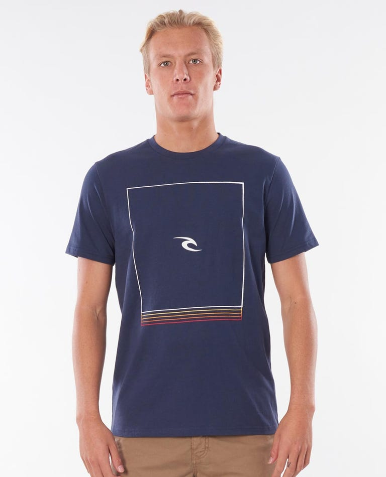 Standby Tee in Navy