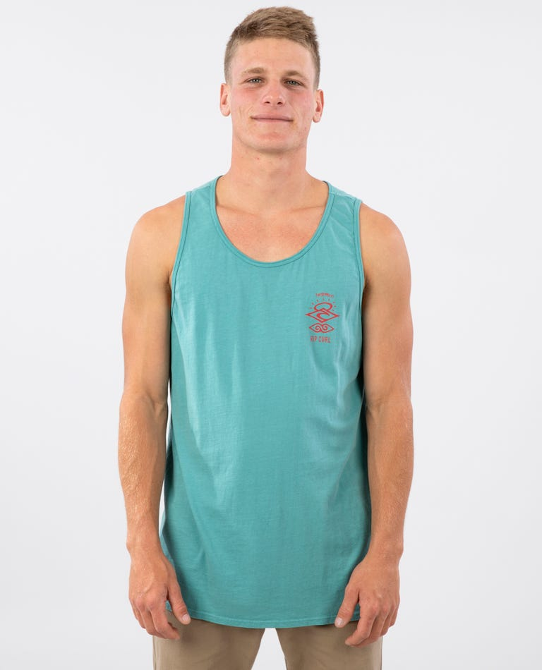 Search Fever Heritage Tank in Teal