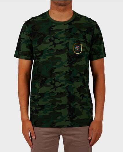 23rd Infantry Standard Issue Tee in Black