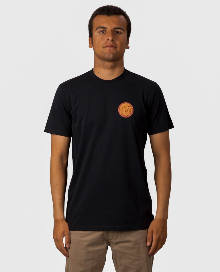Passage Tee in Black