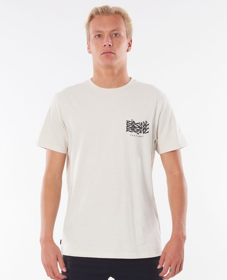 Surf Heads Tee in Bone
