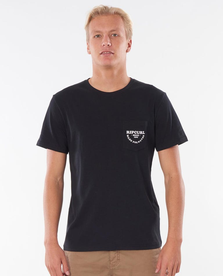 Made For Pocket Tee in Black