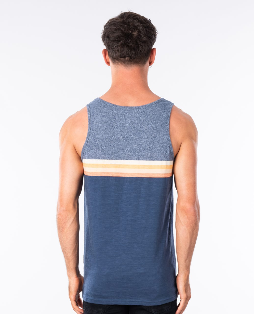 RIP CURL The Surfing Company Tanktop 2020 Blue Star