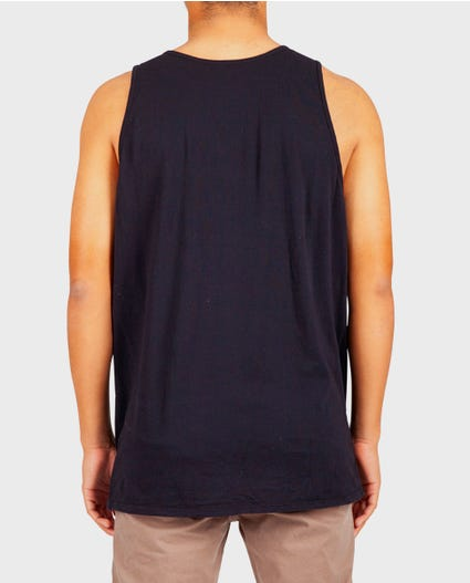 The Digs Pocket Tank Top in Black