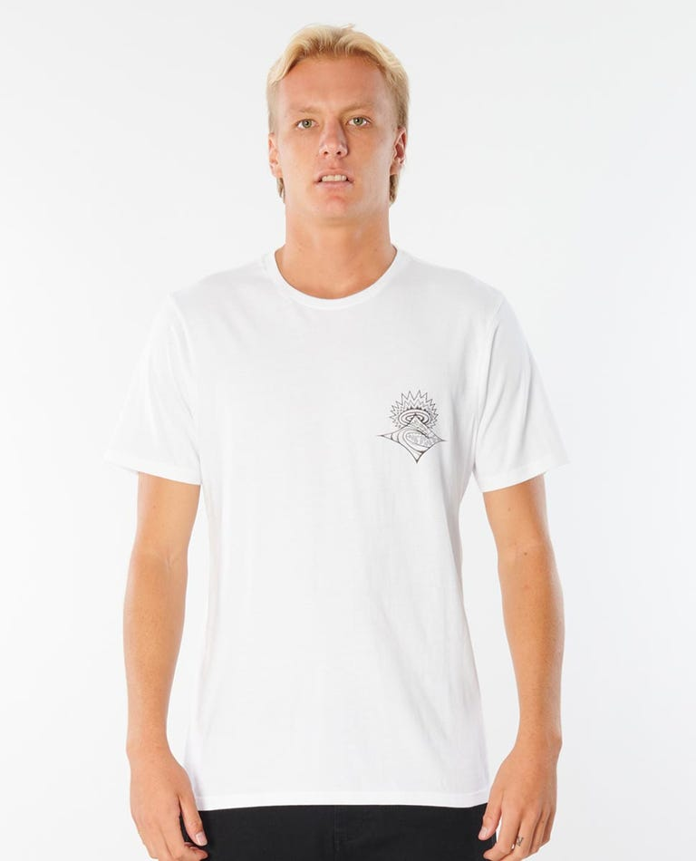 Scorched Earth Tee in White