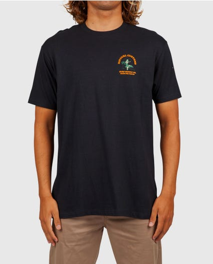 Island Time Premium Tee in Black