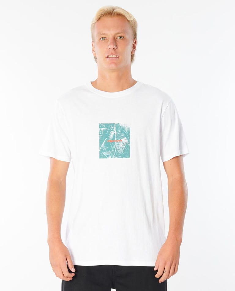 Re:Search Collage Tee in White