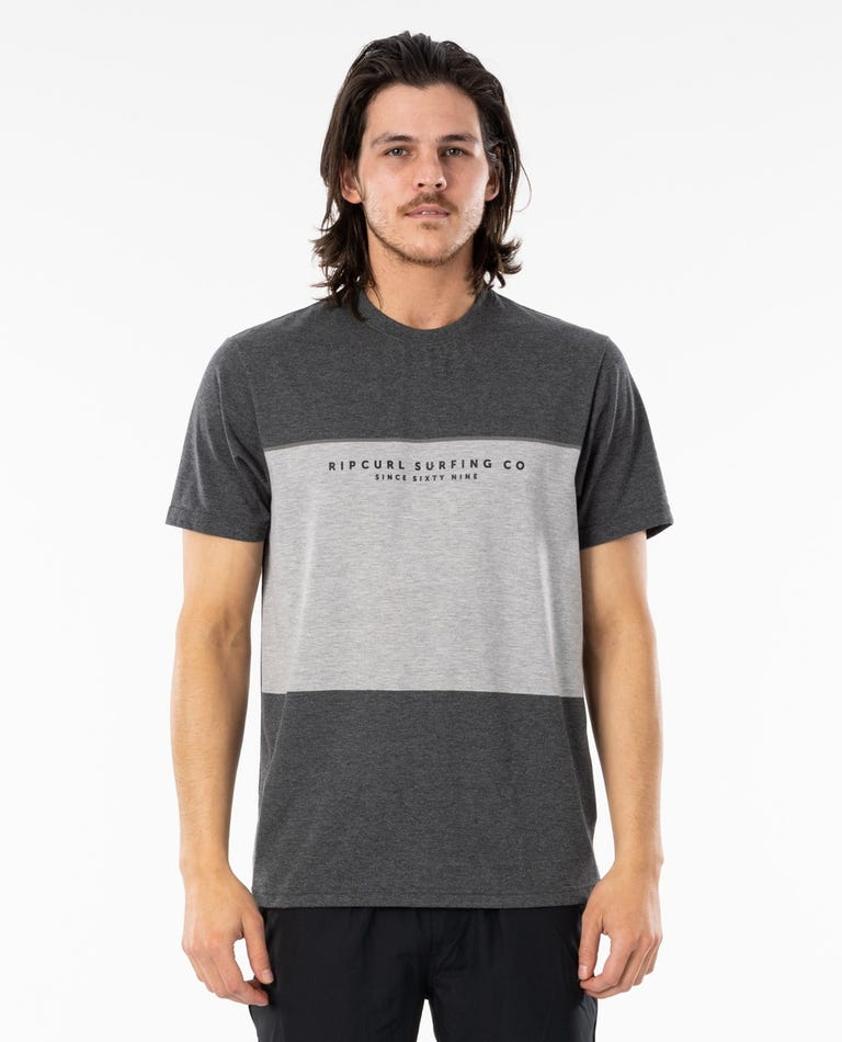 Section VaporCool Tee in Dark Grey Marle
