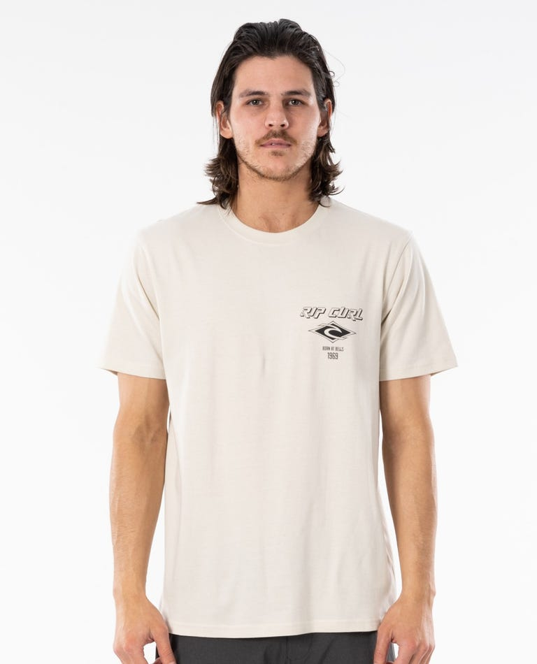 Fadeout Essential Tee in Bone