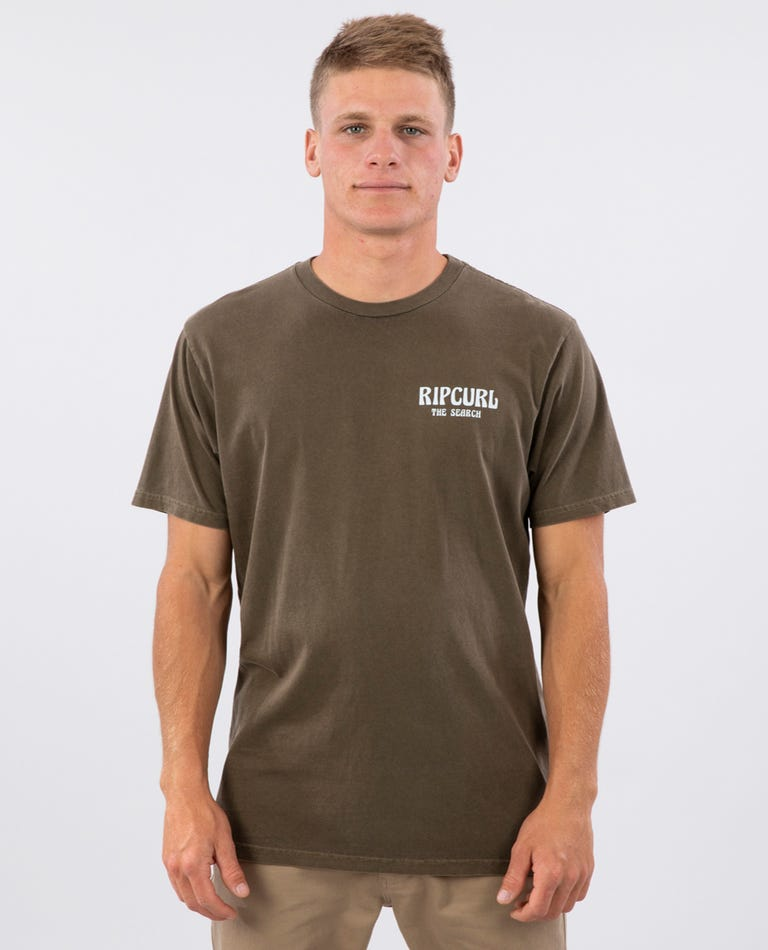 Cutty Standard Issue Tee in Brown