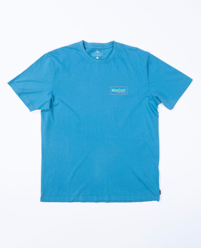 Quality Products Tee in Ocean
