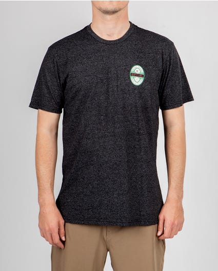 Brewery Mock Twist Tee in Black