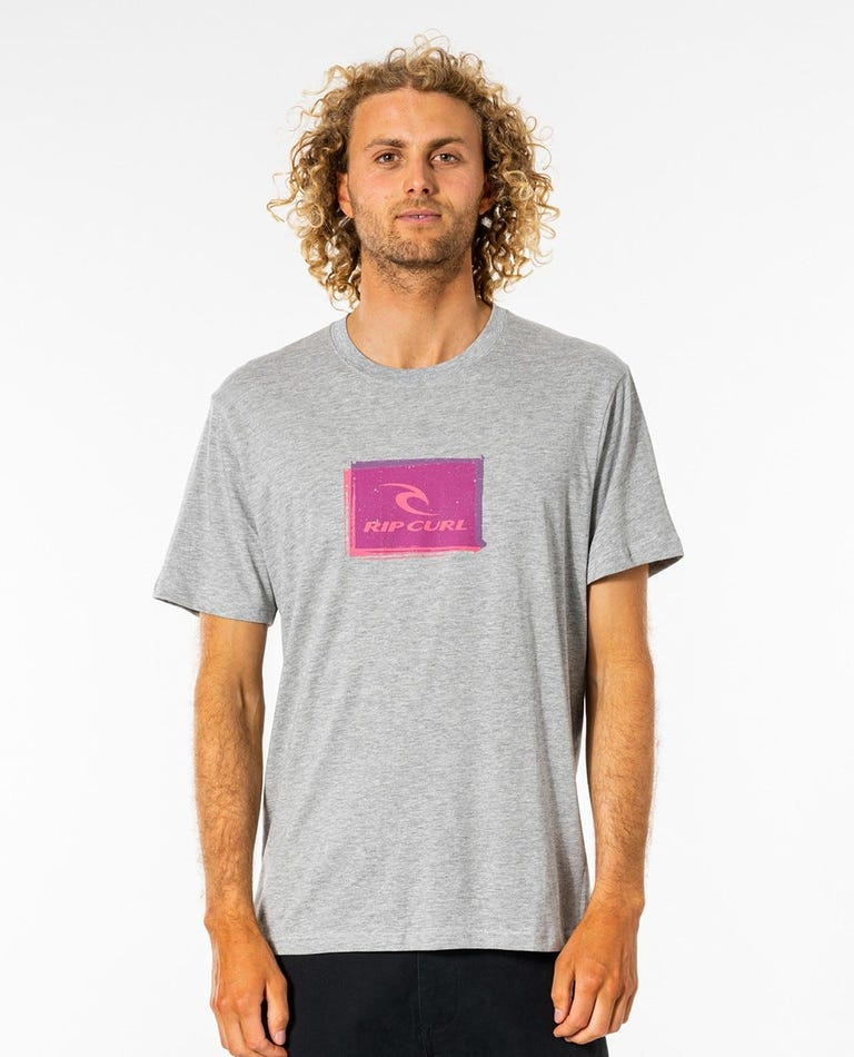 Corp Icon Tee in Grey Marle