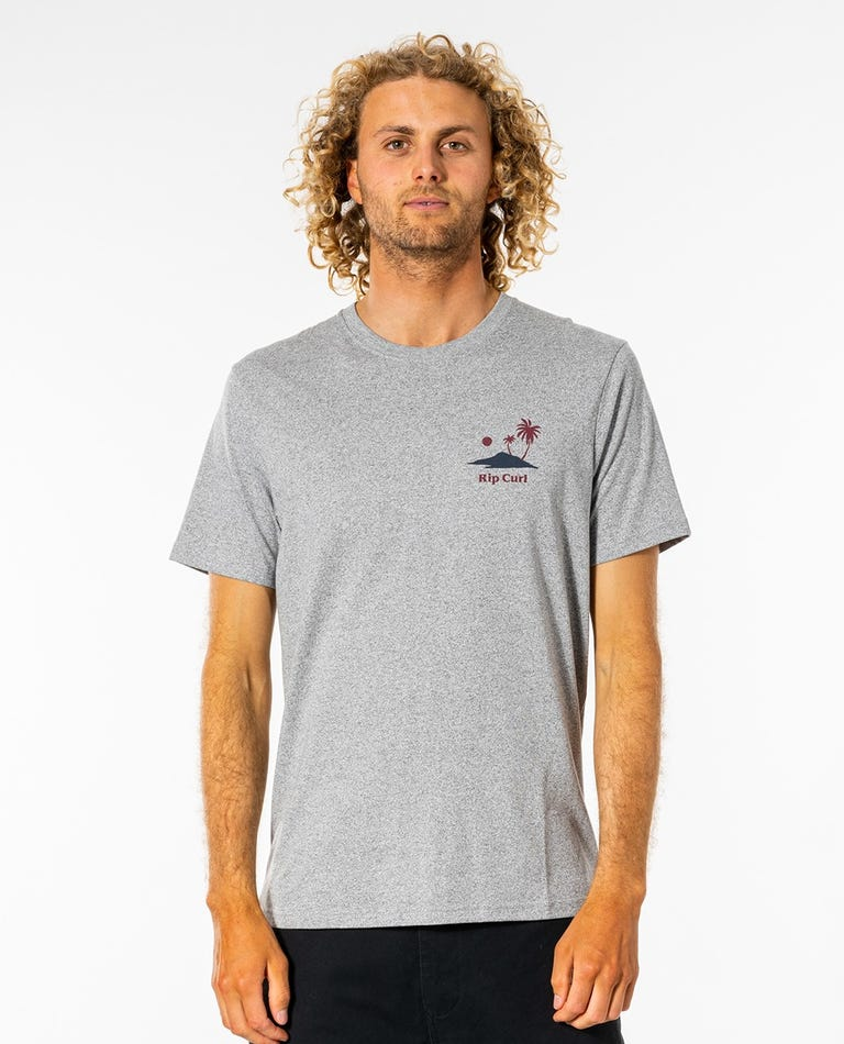 Quality Craft Tee in Grey Marle